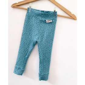 Leggings Punkte altmint