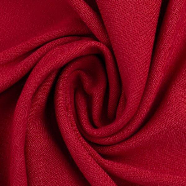 Bündchen Uni rot