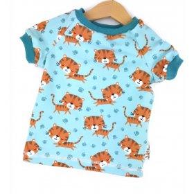 T-Shirt Tiger mint