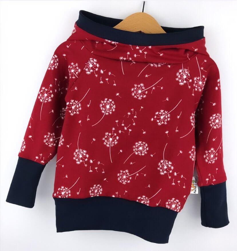 Hoodie für Mama Pusteblume rot