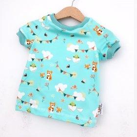 T-Shirt Fuchs & Kiwi mint