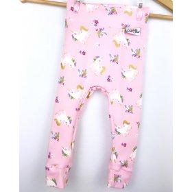 Leggings Einhörner rosa