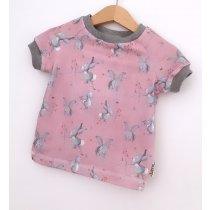 T-Shirt Hasi rosa