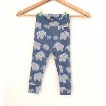 Leggings Elefanten rauchblau