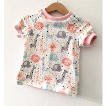 T-Shirt Dschungel rosa