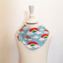 Halstuch mit Wolken & Regenbogen