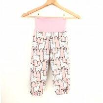 Softshellhose Lama rosa