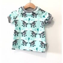 T-Shirt Esel mint