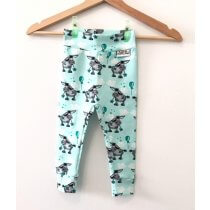 Leggings Esel mint