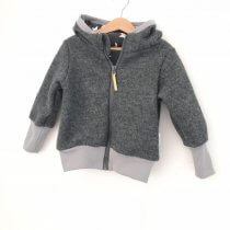 Walkjacke in grau