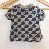 T-Shirt mit Igel grau