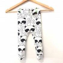 Leggings Panda weiss