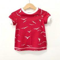 T-Shirt Möwen rot