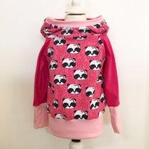 Hoodie mit Panda pink