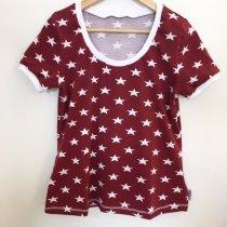 T-Shirt für Mama mit Sternen weinrot