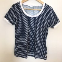 T-Shirt für Mama Loveboats blau