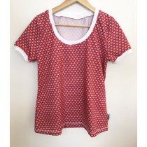 T-Shirt für Mama Loveboats rot