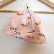Sommermütze mit Cupcakes rosa