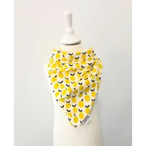Halstuch zum Binden mit Zitronen
