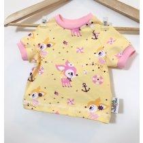 T-Shirt Reh gelb