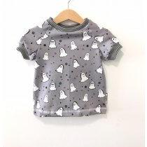 T-Shirt Geister grau