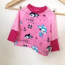 Langarmshirt Reh pink