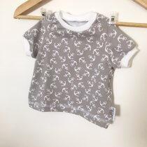 T-Shirt Anker grau