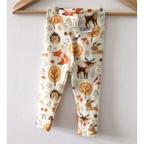 Leggings Waldtiere creme