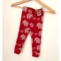 Leggings Elefanten rot