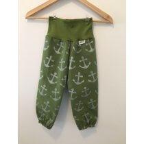 Softshellhose Anker grün