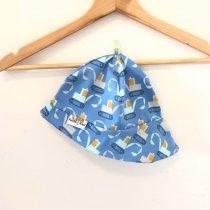 Sommermütze Bagger blau