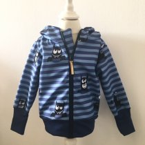 Softshelljacke Monster blau