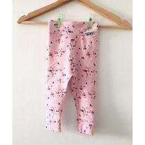 Leggings geometrisch rosa