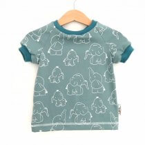 T-Shirt Elefanten petrol