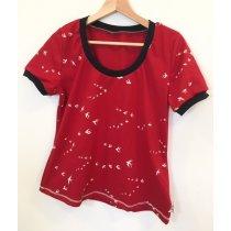 T-Shirt für Mama Schwalben rot
