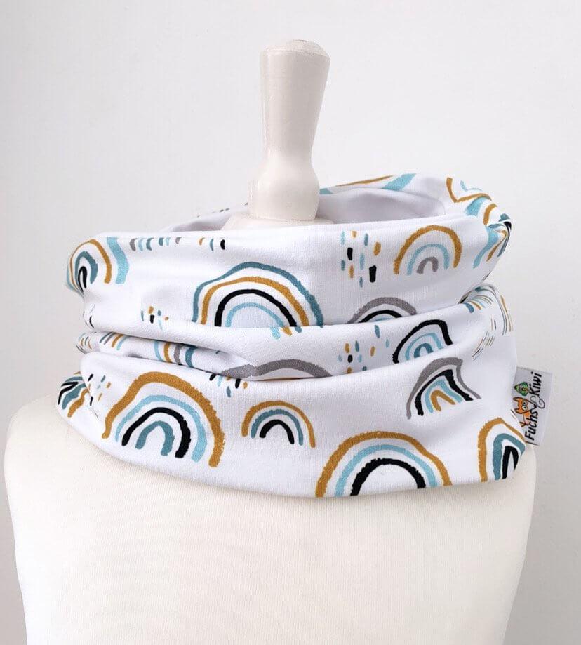 Loop Regenbogen mint