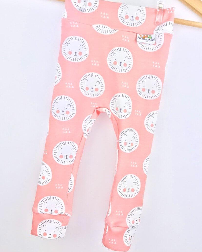 Leggings Löwe rosa