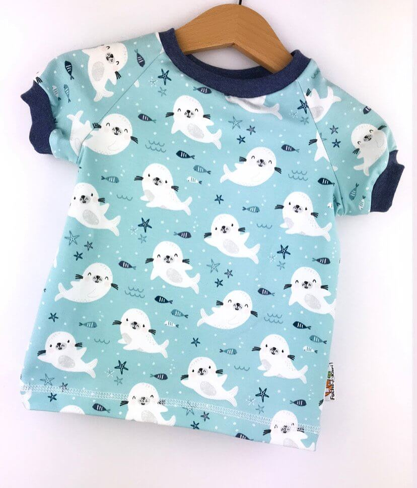 T-Shirt Babyrobben
