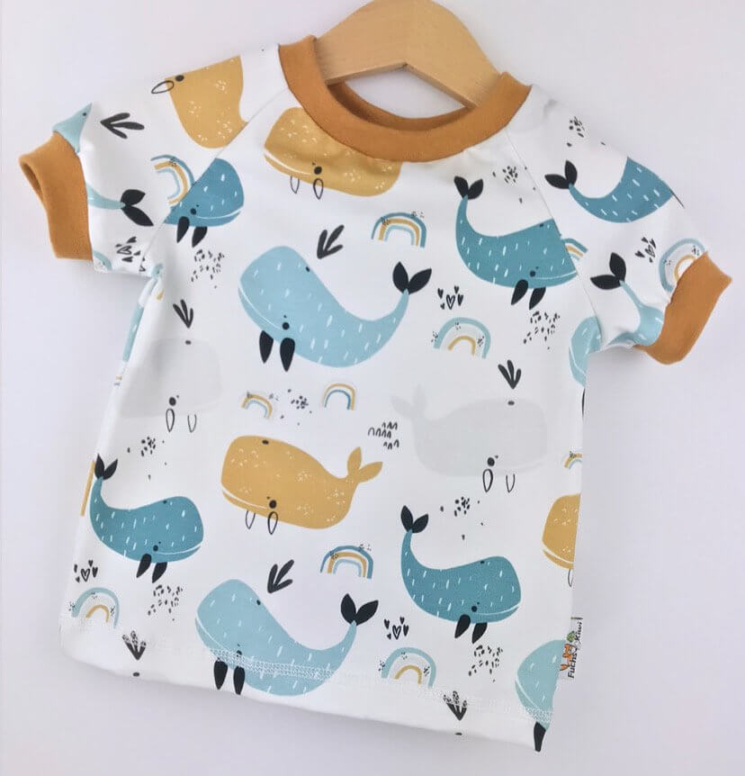 T-Shirt Wal & Regenbogen