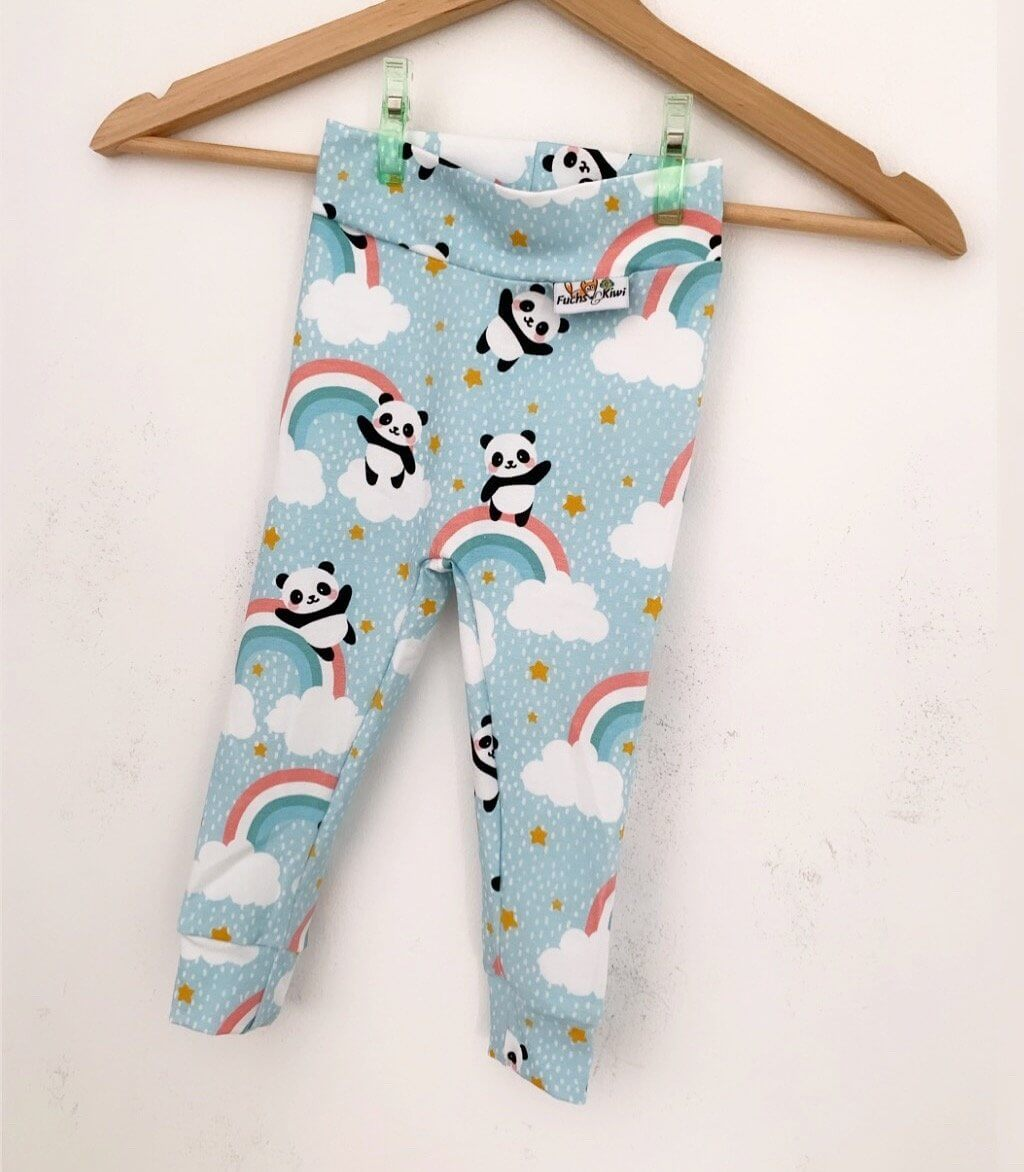 Leggings Regenbogenpanda