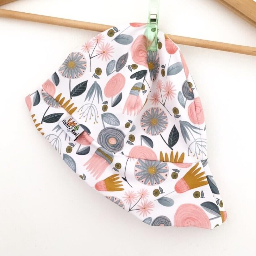 Sommermütze Blumen