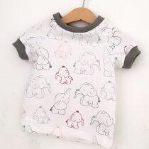T-Shirt Elefanten bunt