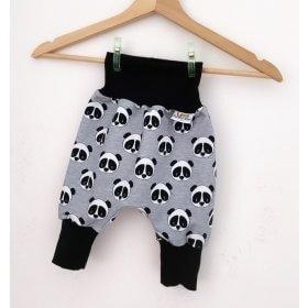 Pumphose Panda grau meliert