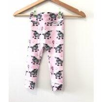 Leggings Esel rosa 122/128