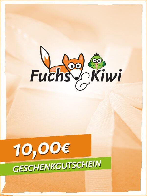 Gutschein 10 € - Fuchs & Kiwi