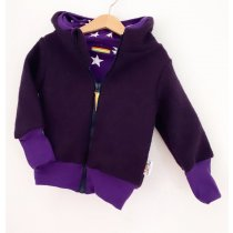 Walkjacke lila