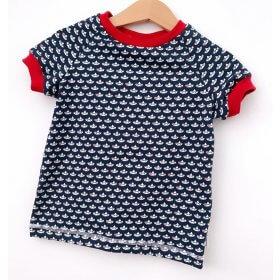 T-Shirt Loveboats blau