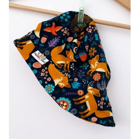 Sommermütze Füchse & Blumen