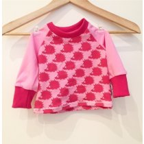 Langarmshirt Igel pink 110/116