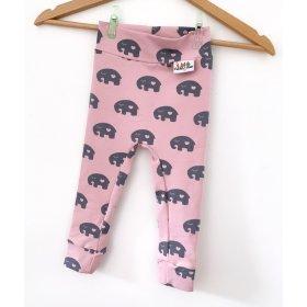 Leggings Elefanten schwarz